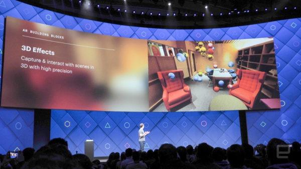 realidad aumentada facebook