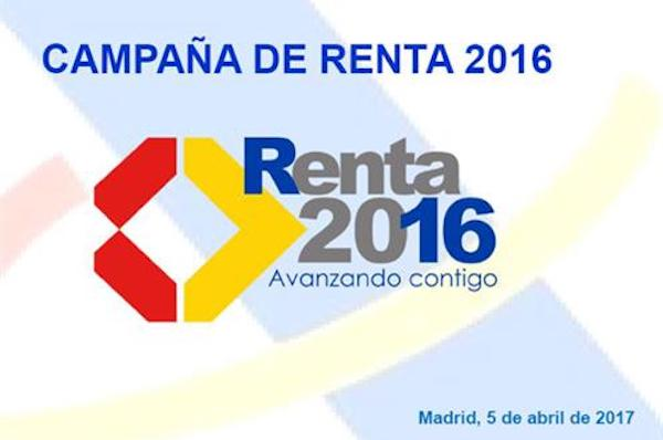 campaña renta 2016