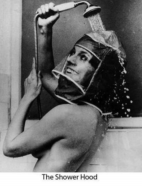 invento casco ducha