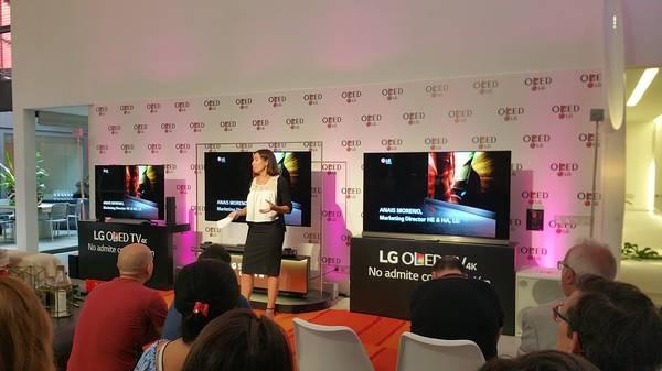Presentacion LG OLED