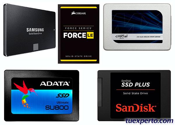 5 discotecas duros SSD de buen coste en Amazon