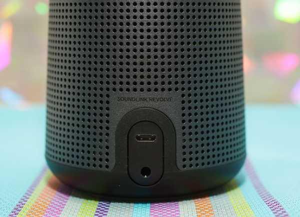 Bose Soundlink Revolve conexiones