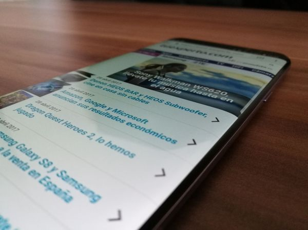 Samsung Galaxy S8+ pantalla
