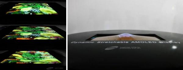 Samsung aclara la tecnología detrás de su pantalla elástica