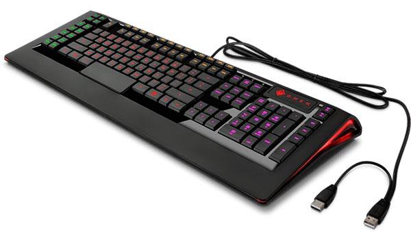 analisis gama HP Omen accesorios teclado