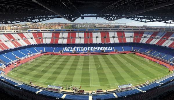 El nuevo estadio del Atlético de Madrid contará con pantallas LG