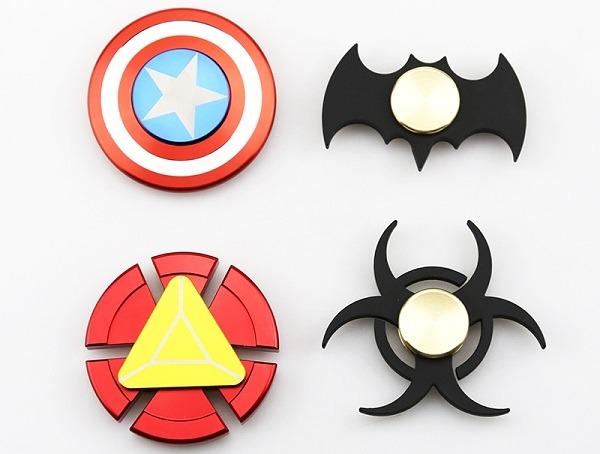 fidget spinner superheroes