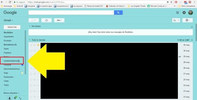 añadir cuenta de correo en gmail 6