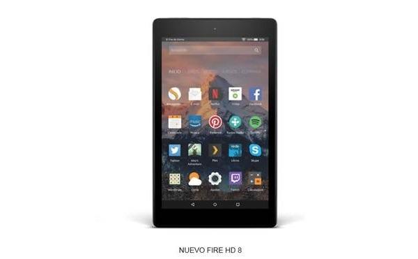 Amazon Fire ocho HD, un paso adelante en decisión y autonomía