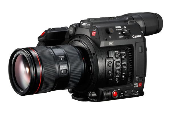 lanzamiento Canon EOS C200 cuerpo ligero