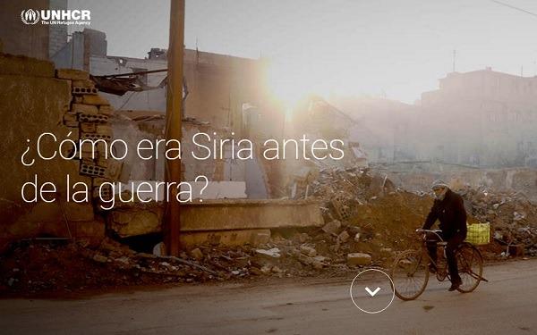 La crisis de los asilados sirios explicada en una web interactiva