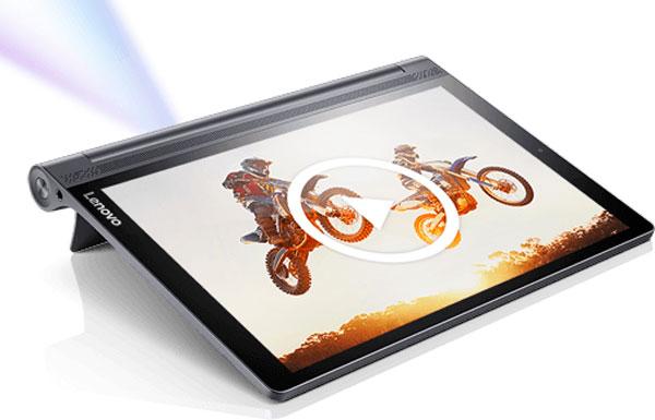 5 tablets Lenovo℗ para vacaciones Lenovo℗ Yoga Tab 3 Pro