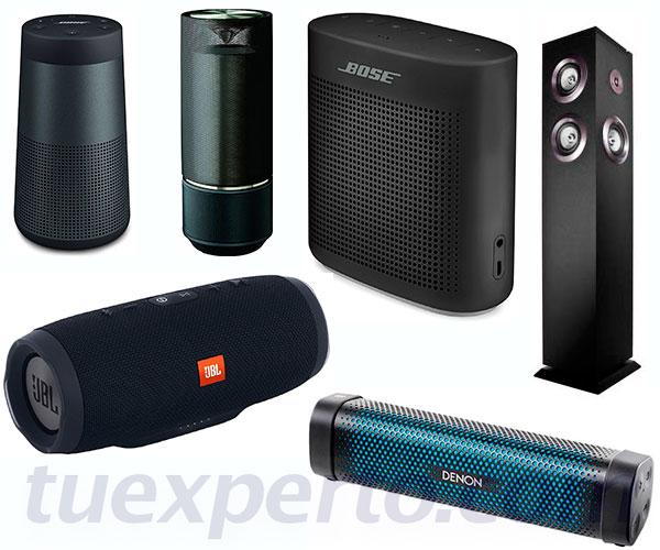 6 alta-voces Bluetooth por menos de 200 euros