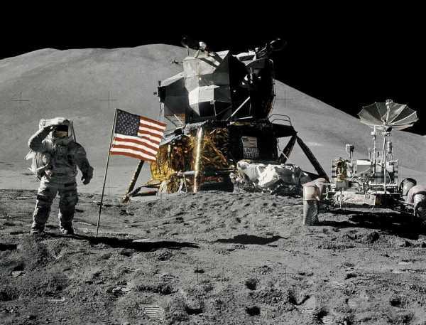 Apollo quince rover NASA 1971
