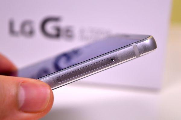 LG G6 diseño con curvas