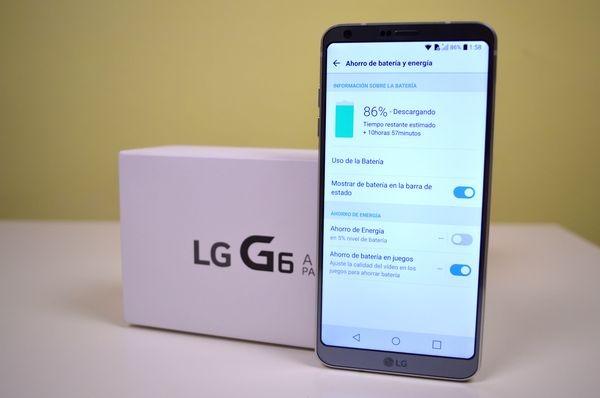 LG G6 batería para todo el día
