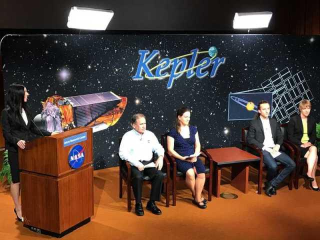 NASA Kepler rueda de prensa