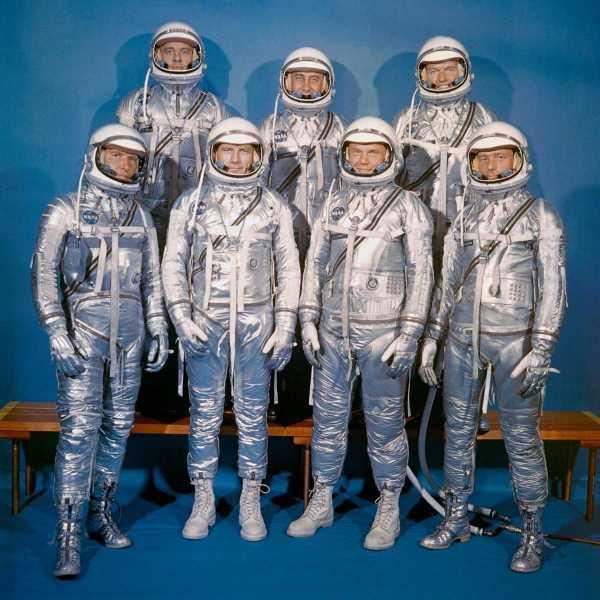 Siete escogidos NASA Mercury