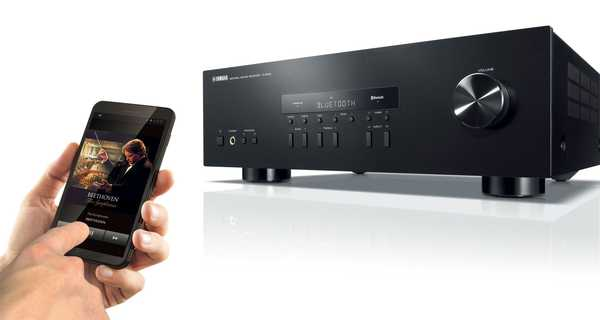Yamaha R-S202, amplificador de música estéreo con Bluetooth