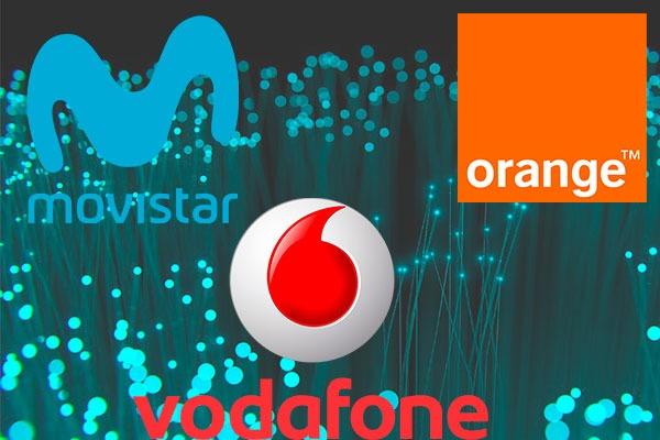 Movistar, Orange o Vodafone, ¿con cuál contrato fibra de trescientos MB más móvil?