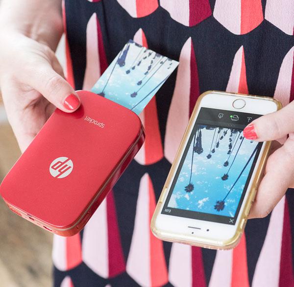 HP Sprocket, la impresora de saquillo para tus fotografías del verano
