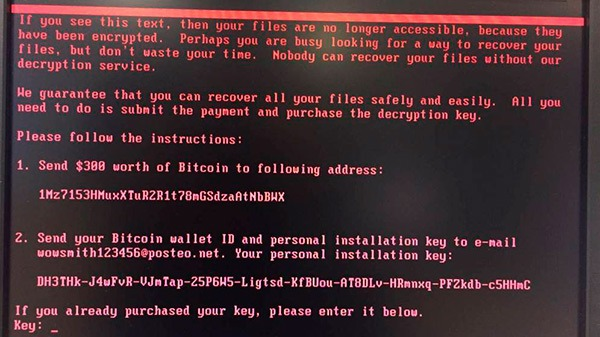 Un nuevo malware denominado Petya paraliza grandes empresas de todo el mundo