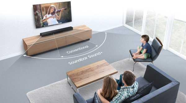 Samsung Soundbar Sound plus, nueva y fuerte barra de sonido