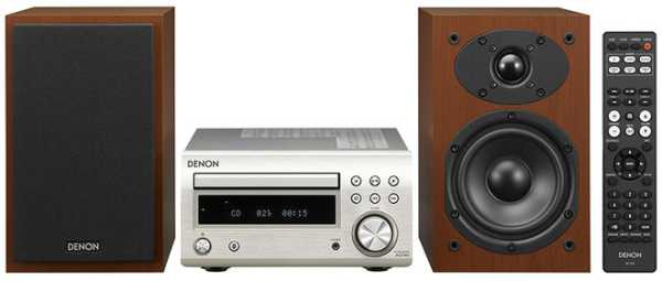 Denon D-M41, microcadena de calidad con Bluetooth, radio y CD