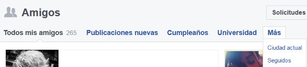 Trucos Facebook amigos seguidores