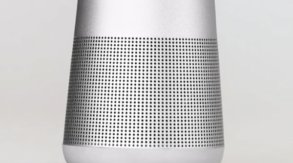 a fondo Bose SoundLink Revolve+ sin juntas