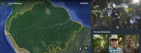 amazonas google earth