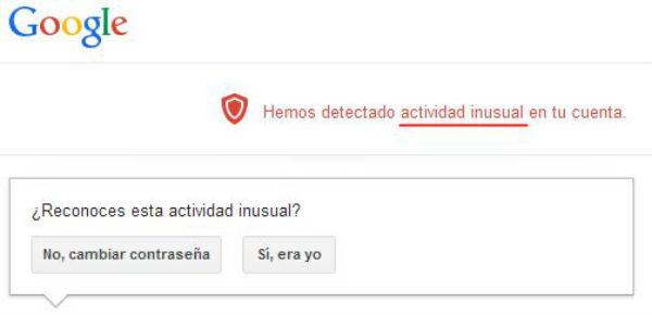 evitar robo cuenta Gmail