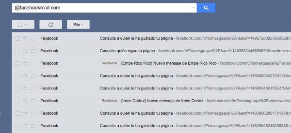 notificaciones Gmail