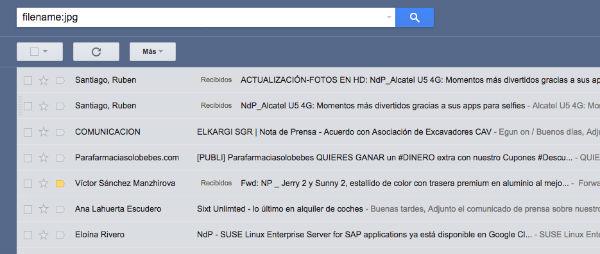 Gmail espacio liberado