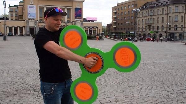 Los 10 fidget spinner más absurdos