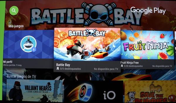 prueba Sony A1 OLED sistema operativo play store juegos