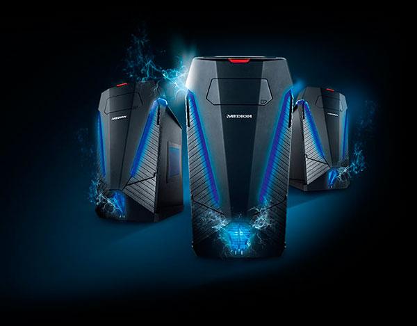 lanzamiento MEDION Erazer X47007 conjunto tecnico