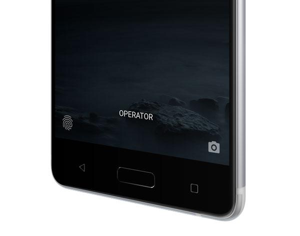 lanzamiento Nokia cinco lector de huellas