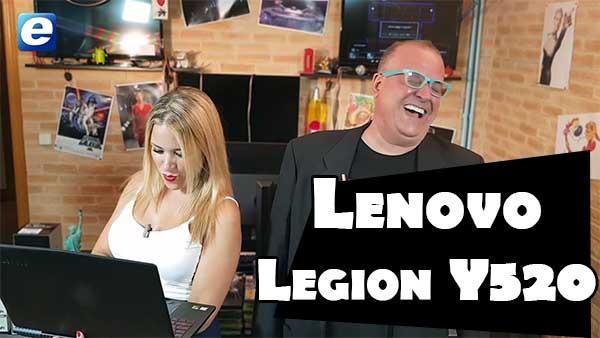 Así es el Lenovo Legion Y520, te lo contamos en vídeo