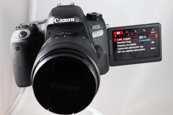prueba Canon EOS 77D final