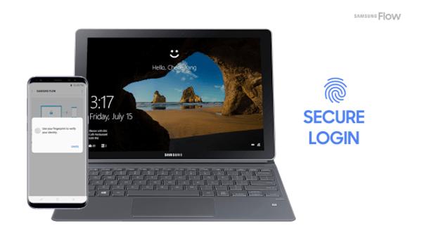 usar un móvil Samsung para desbloquear tu PC