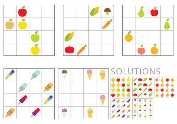 Sudoku para niños