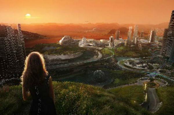 Así seria vivir en Marte con una experiencia de realidad virtual de HP