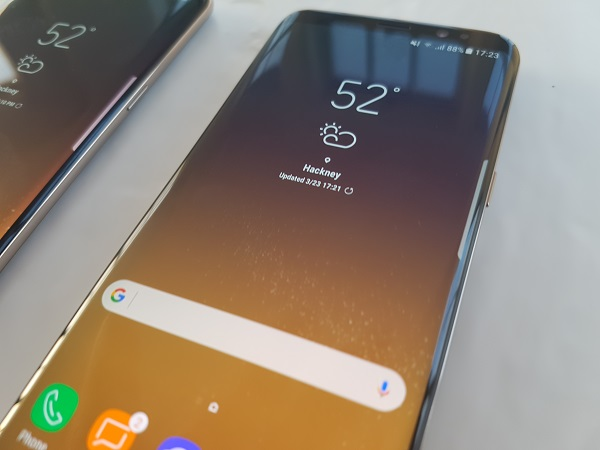 samsung galaxy s8 android 8