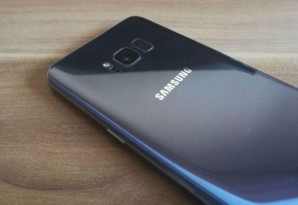 Samsung Galaxy S8+ camara