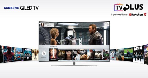 Samsung lanza el servicio TV Plus en España