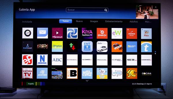 hemos demostrado Philips 55PUS6262 tienda apps