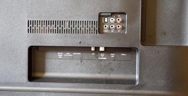 hemos demostrado Philips 55PUS6262 conexiones