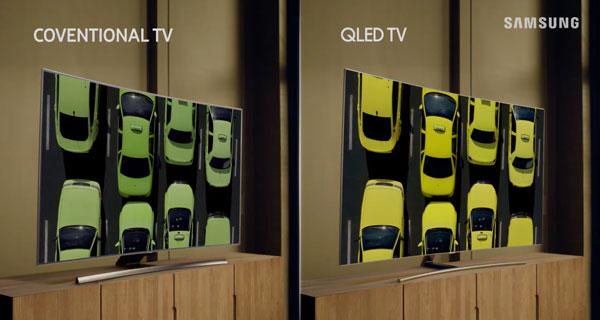 hemos demostrado Samsung QLED Q8C ángulos de visión