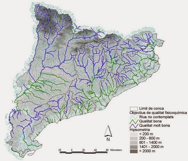 Rios De Cataluña Mapa.Mapa De Catalunya Mas De 100 Imagenes Para Descargar E